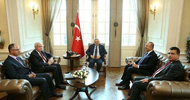 Başbakan Yıldırım'dan sürpriz kabul