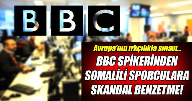 BBC sunucusundan Somalili sporculara çirkin benzetme!