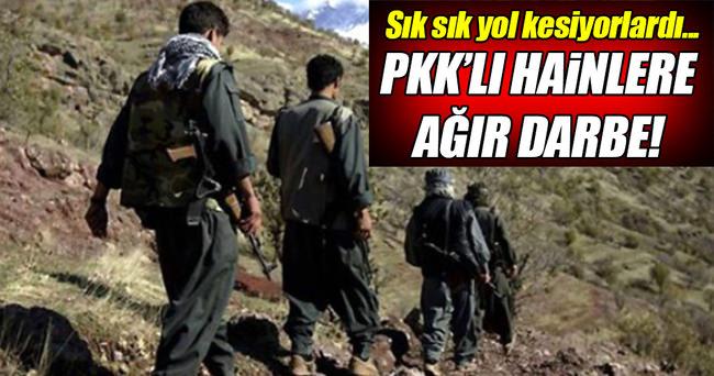Tunceli'de 4 PKK'lı hain öldürüldü!