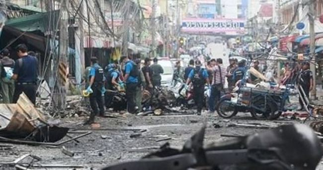 Tayland'da patlama: 1 ölü, 14 yaralı