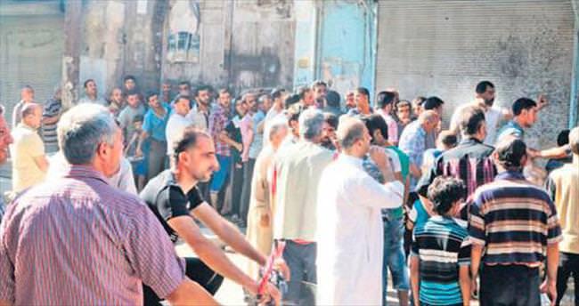 Halepliler haftalar sonra ilk kez alışverişe çıktı