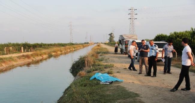 Adana'da sulama kanalında çocuk cesedi bulundu