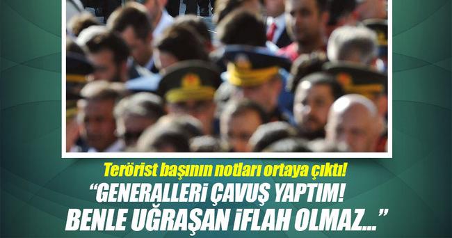 Fetullah Gülen'in ele geçirelen bu notları çok konuşulacak!