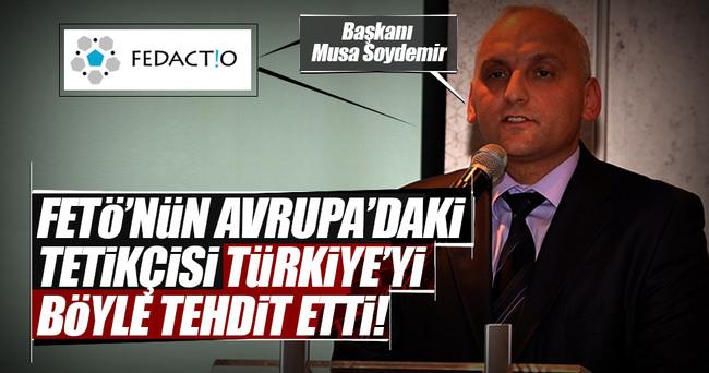 FETÖ'nün Belçika'daki çatı kuruluşundan Türkçe haber sitelerine tehdit