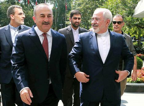 İran Dışişleri Bakanı Gazi Meclis'te!