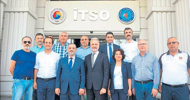 İSTE ile İTSO arasında burs protokolü imzası