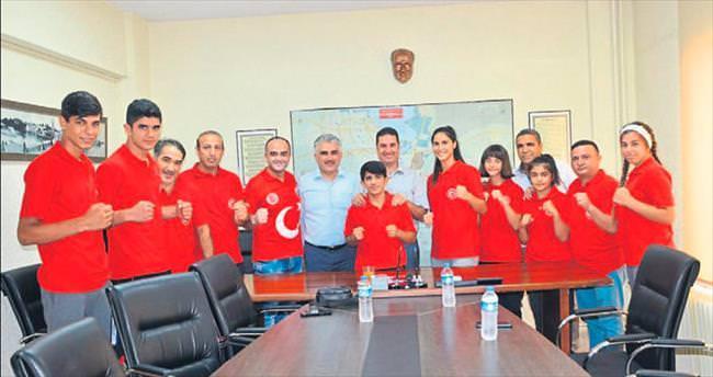 Adana'dan 7 sporcu dünya şampiyonasında