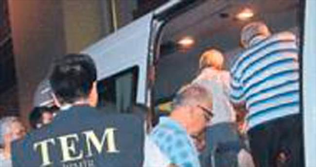 Ödemiş'te 19 kişi tutuklandı