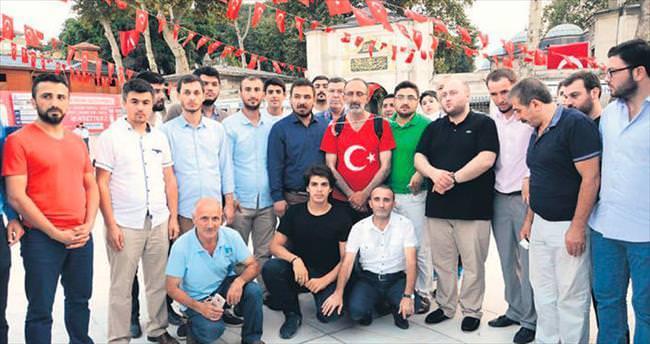Darbe girişimini Ankara'ya yürüyerek protesto edecek