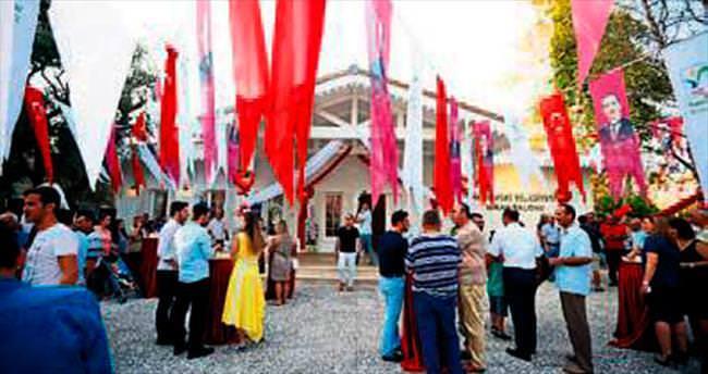 Manavgat'ta yeni nikah salonu açıldı
