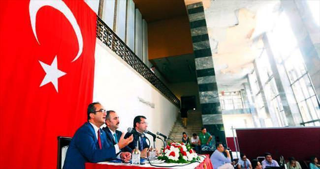 Anayasa değişikliği için ilk buluşma