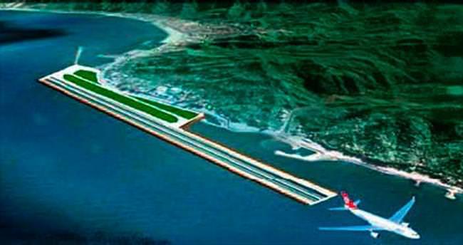 Denize dolgu ikinci havalimanı Rize'de yapılacak