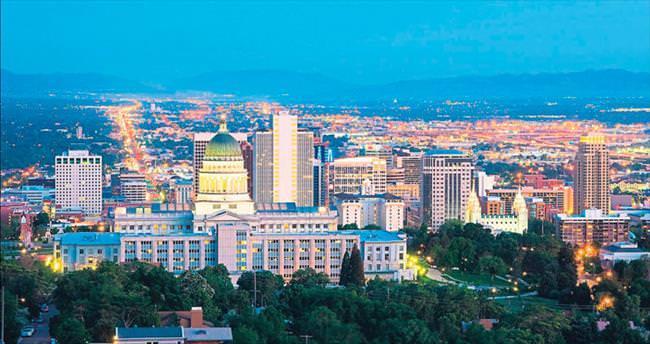 Başka türlü bir ABD şehri Salt Lake City