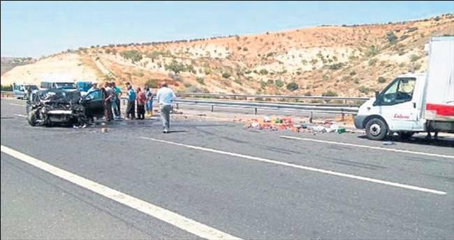 Milletvekili Yüksel trafik kazası geçirdi