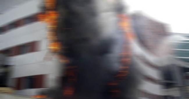 Bahçelievler'de hastane yangını