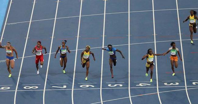 100 metrede Elaine Thompson sürprizi
