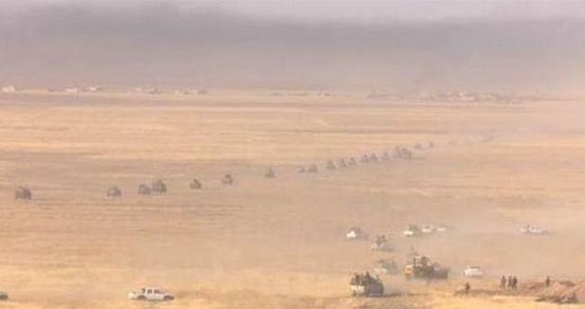 Barzani güçleri Irak'ta da IŞİD'e operasyon başlattı