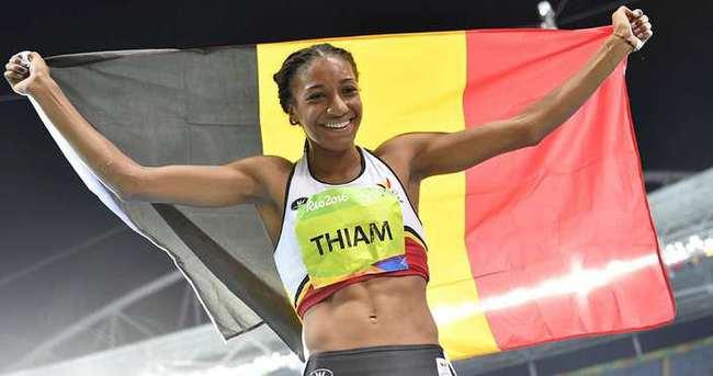 Heptatlonun kazananı Thiam