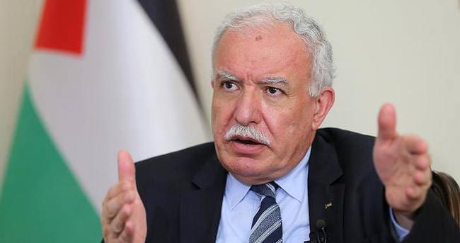 Filistin Dışişleri Bakanı'ndan Türk halkına övgü