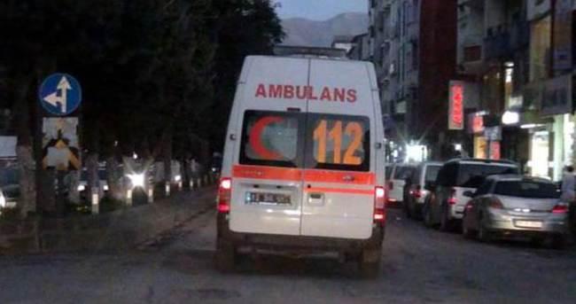 Bitlis'te polise hain pusu: 3 yaralı