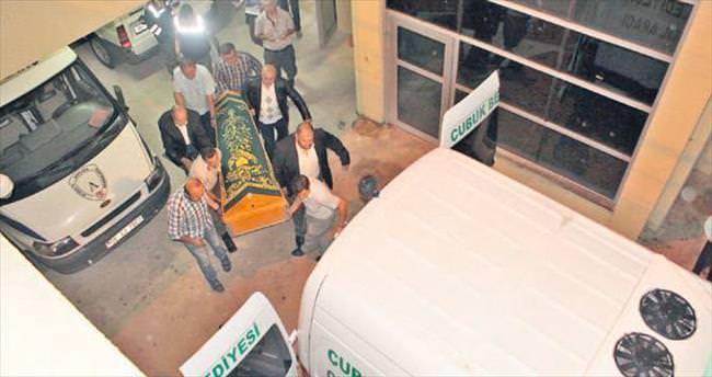 Kazara kendini vuran kişi öldü