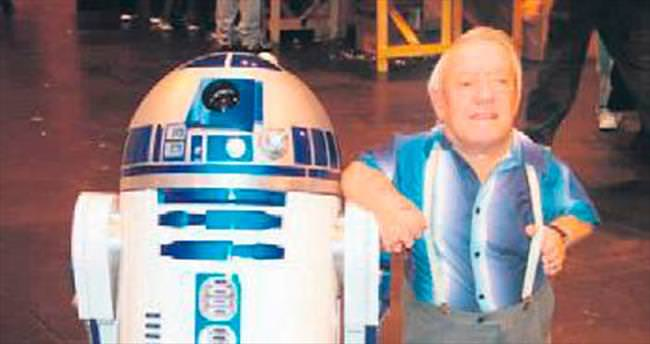 Yıldız Savaşları'nın 'R2-D2'su veda etti