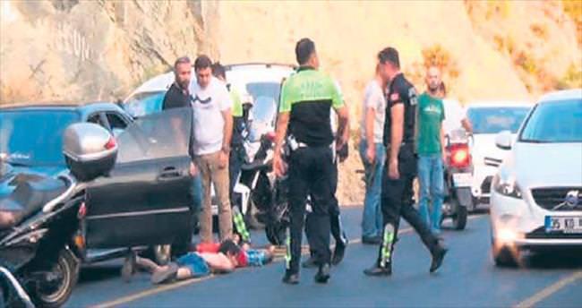 Ehliyetsiz sürücü Marmaris'i karıştırdı