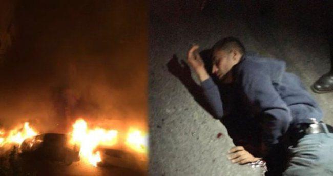 İstanbul'da araç kundakçısı vurularak yakalandı