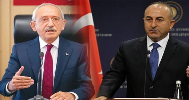 Kılıçdaroğlu, Dışişleri Bakanı Çavuşoğlu ile görüşüyor