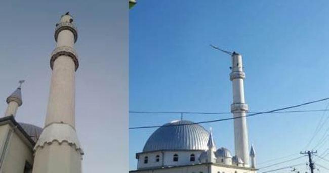 Kosova'da cami minaresine çirkin saldırı