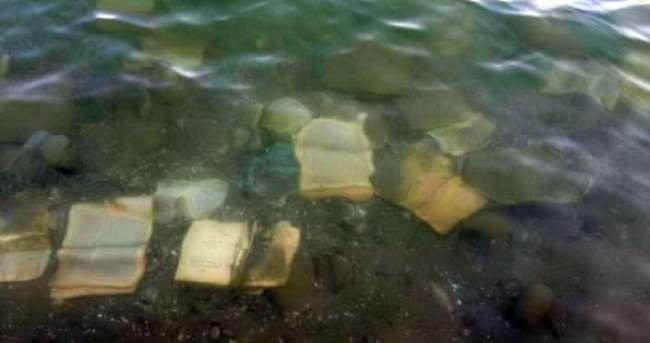 Atatürk Barajı'nda FETÖ'ye ait kitaplar bulundu
