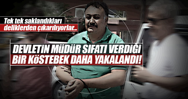Aranan polis müdürü yakalandı