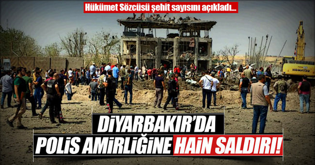 Diyarbakır'da büyük patlama