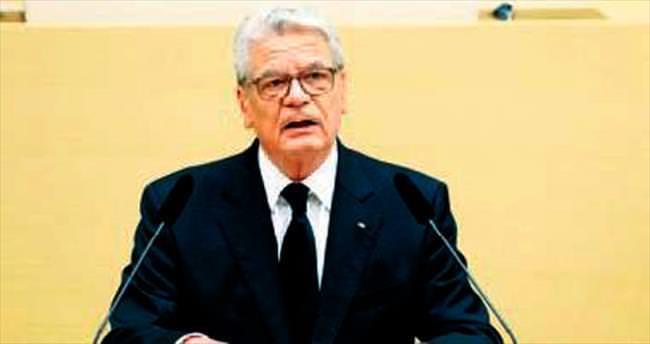 Cumhurbaşkanı Gauck Türkiye'yi övdü