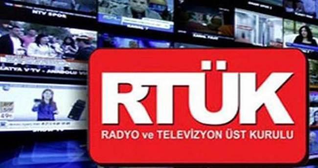 RTÜK'ten yayın yasağı kararı