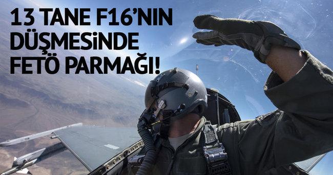 F16 uçaklarını FETÖ'nün tecrübesiz pilotları düşürdü!