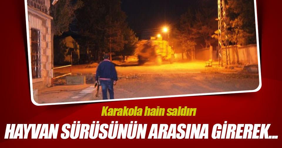 PKK, Kağızman'da karakol inşaatına saldırdı