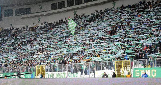 Bursaspor'da kombine şoku!