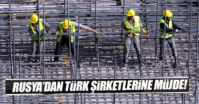 Rusya'da Türk işçi çalıştırabilecek şirket listesi genişliyor