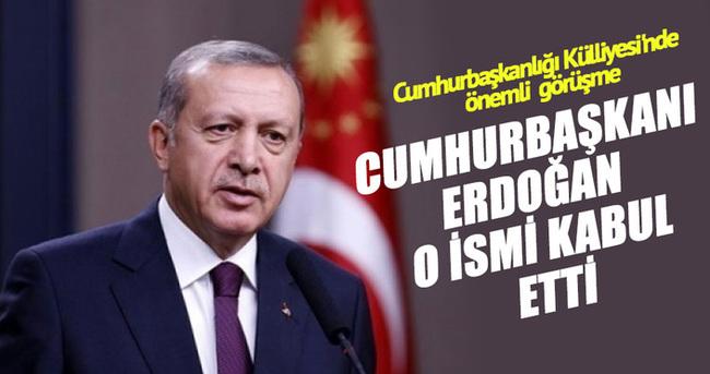 Cumhurbaşkanı Erdoğan AGITPA Başkanı'nı kabul etti