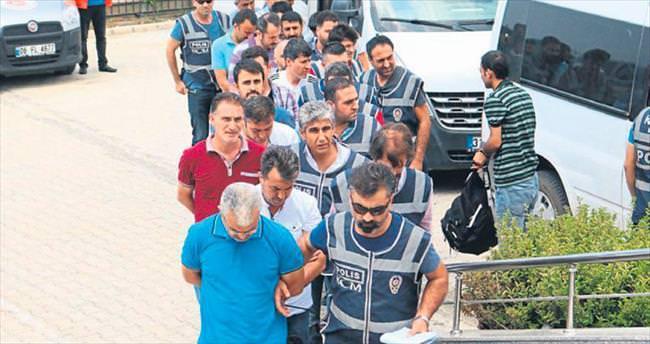 Hatay'da tutuklu sayısı 333'e çıktı