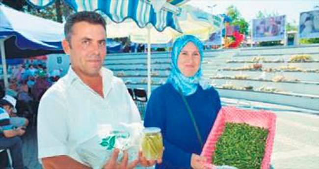Silivri'de kavun ve bamya festivali
