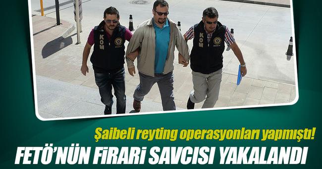 FETÖ'cü kaçak savcı Akif Özgün yakalandı