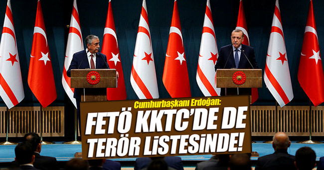 Cumhurbaşkanı Erdoğan: KKTC'de de terör listesine girmiştir