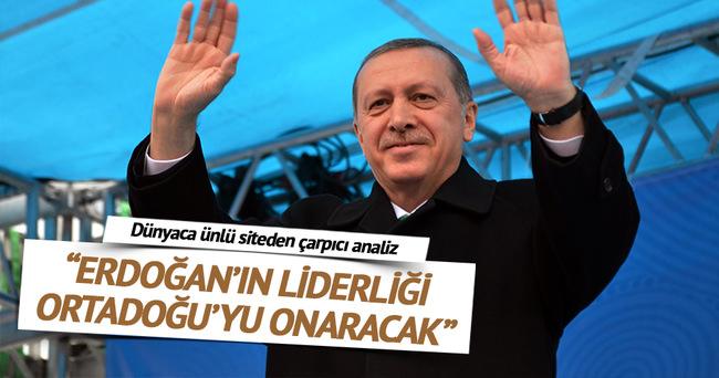 """""""Erdoğan'ın liderliği Ortadoğu'yu onaracak"""""""