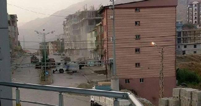 Hainler Şemdinli'de polise saldırdı