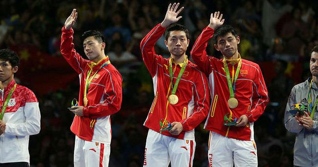 Olimpiyatlarda masa tenisine Çin damgası