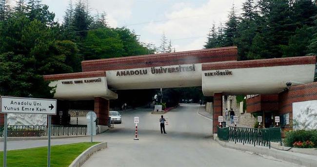 Anadolu Üniversitesi'nde FETÖ operasyonu