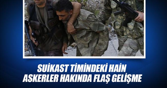 Cumhurbaşkanı Erdoğan'a suikast timindeki 11 hain asker tutuklandı