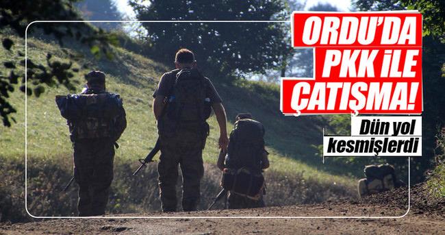 Ordu'da PKK ile çatışma yaşandı!